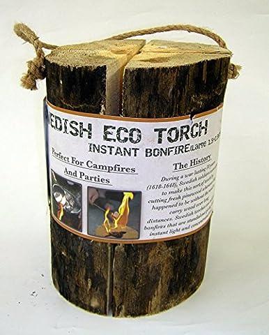 Large Swedish Eco Torch 17-24cm