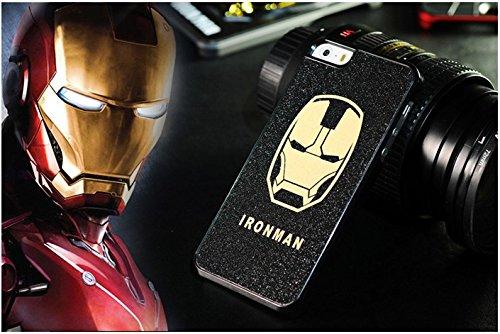 Super Hero Avengers, etc. Coque rigide pour Apple iPhone 5/5C/5S/5C. 6& 6+, IRONMAN, Apple iPhone 5/5s