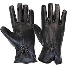 2e7ba5b6a3e2eb ALPIDEX Damen Lederhandschuhe Winterhandschuhe Echtleder Handschuh in  verschiedenen Größen