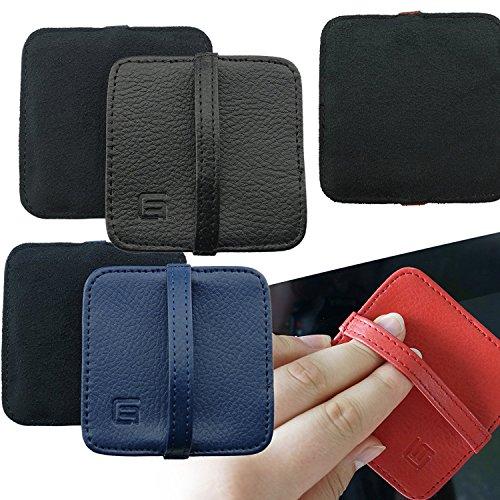 Eco-Fused Almohadillas de limpieza - Paquete de 6 3 x 3 pulgadas (7.8cmx7.8cm) Toallas - Ideal para limpieza de teléfonos inteligentes, Apple iPhone, Samsung, Blackberry, Android Phones, Tabletas, Computadoras portatiles, Computadoras, TV Screens