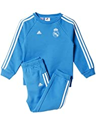 adidas Real 3S Bbyjogg - Chándal para niños, color azul / blanco, talla 74