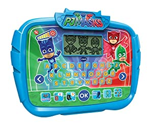 VTech- Alfabeto Juegos, aprende Las Letras abecedario Interactivo PJ Masks con Actividades para Aprender (3480-175922)