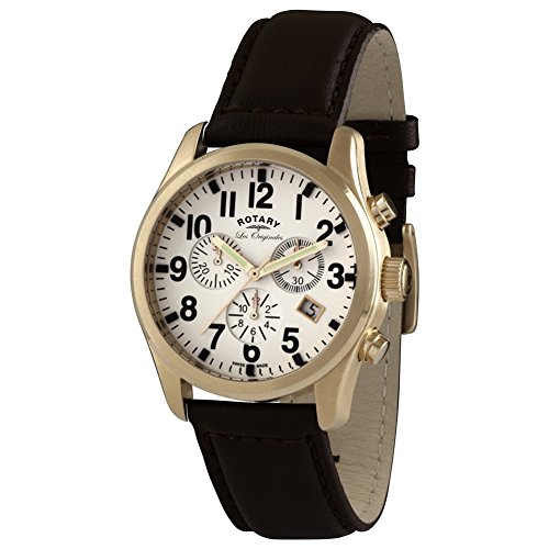 Rotary Herren - Armbanduhr Chronograph Quarz GS90200/18
