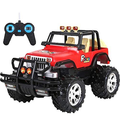 Camion militare telecomandato con telecomando, telecomando, super grande fuoristrada, modello auto da corsa, giocattolo per bambini, regalo meraviglioso per ragazzi