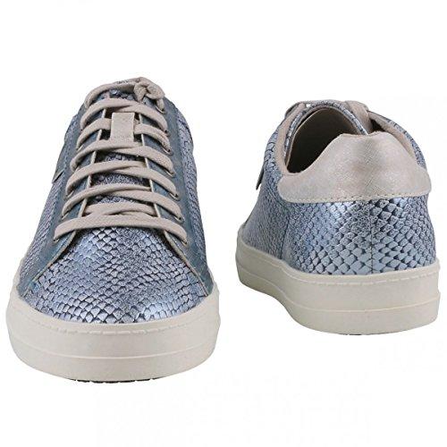 Tamaris - Pantofole Donna Blu (Blau (BLUE METALLIC 994))