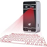 Stwie Bluetooth Virtual Keyboard, Wireless Mini Keyboard For IPhone Tablet PC With Android/iOS