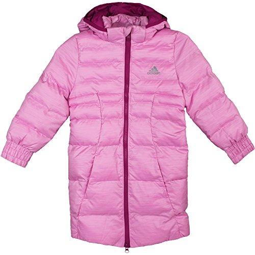 adidas Young J Synthetic Down Coat AB4684 Mädchen Kinderjacke/Daunenmantel/Wintermantel Pink 170