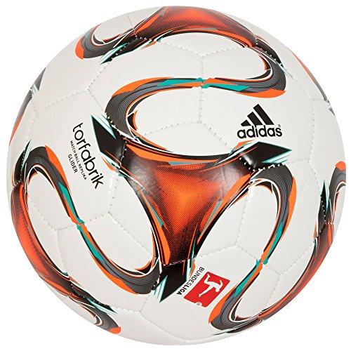 Madrid Glider (adidas Fußball DFL Glider, Wht/Infred/Vivmin, 4, F93533)