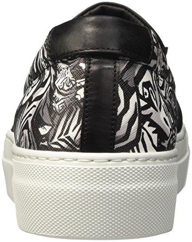 Just Cavalli Jc Main Coll, Baskets Hautes Femme Multicolore( 900S Black Var)
