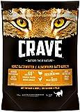Crave Katzenfutter Trockenfutter Adult 1+ mit Huhn und Truthahn, 5 Beutel (5 x 750 g)