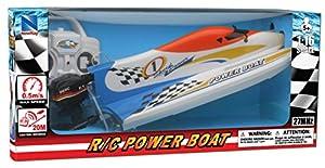 New Ray 87843 F1 - Bote de Velocidad con Mando a Distancia