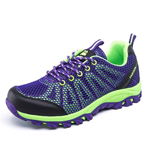 Men's Mesh Breathable Lightweight Climbing Shoes purple