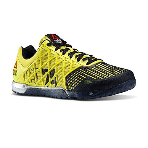Reebok ,  Scarpe sportive indoor uomo giallo, (giallo), 41