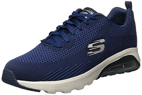 Skechers Mens Air-extreme Running Shoes Blue (navy / Nero)