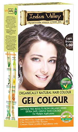 INDUS Valley Gel Herbal capelli colorazione  Kit per Uomo e Donna con Aloe  Vera 90 fcadb60abd5b