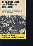 Band 2. Politik und Geist des NS-Staates 1933 - 1936.