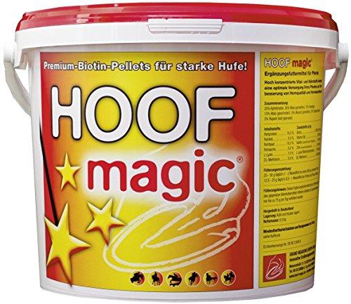 Hoof Magic Biotin-Pellets, 5kg Eimer für ca. 200 Tage, Premium-Ergänzungsfuttermittel