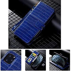 SevenPanda für Galaxy A6 Plus 2018 Flip Folio Geldbörsenetui, 100% Leder Luxus ID Cash Kredit Kartenfächer Inhaber…