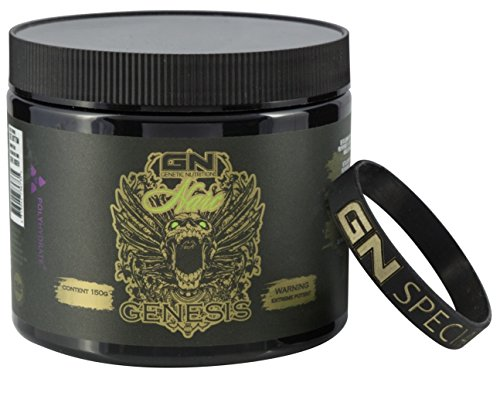 Special Edition - GN Laboratories Narc Genesis PreWorkout Most Hardcore Booster Trainingsbooster Bodybuilding - 150g - ICE Energy