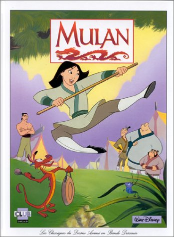 Livre Disney Club Du Livre - MULAN