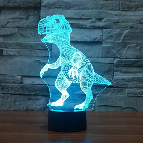 Wangzj-Nachtlicht für Kinder/Lampe des Licht-3d / 7 Farben mit Feiertags-und Geburtstags-Geschenken/Ideen für Kindergeschenk/Pokemon