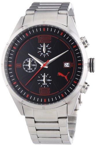 Puma Time PU102621004 - Orologio da polso uomo, acciaio inox, colore:...