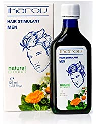 New Product - Men Hair Stimulant for Growth & Strength with Essential Oils - Tobacco Absolute, Rosemary, Lavender, Sage, Vit. PP, Menthol 125ml