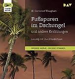 Fußspuren im Dschungel und andere Erzählungen: Lesung mit Uwe Friedrichsen (1 mp3-CD)