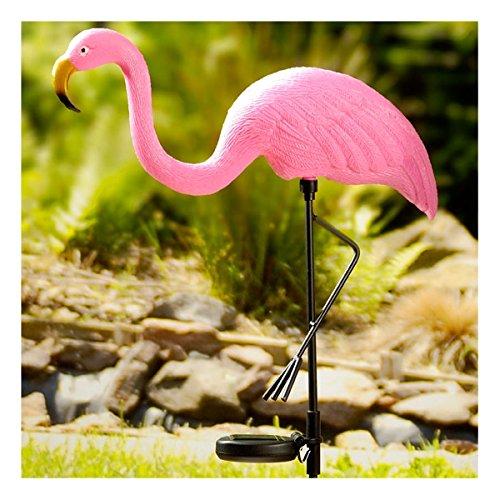 Solarfigur Flamingo - 36 x 8 x 81 cm