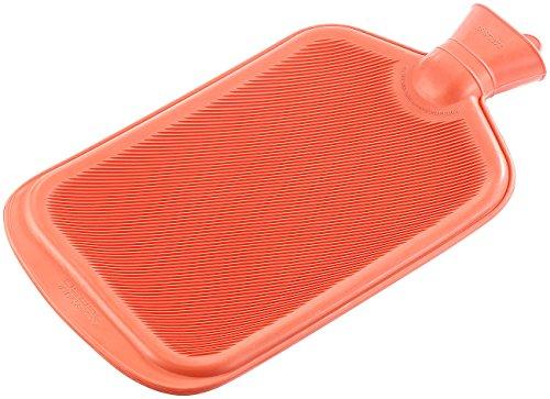 PEARL Wärmeflasche: XXL-Wärmflasche rot 3 Liter (Gummiwärmflasche)