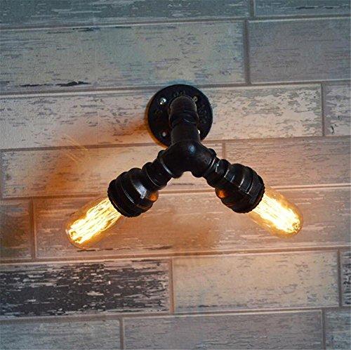 BIUODY Lampada da parete Vintage Industrial Lights parete Lampada da