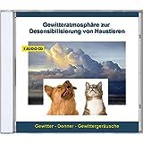 Gewitteratmosphäre zur Desensibilisierung von Haustieren - Gewitter - Geräusche ohne Musik - Donner und Gewittergeräusche