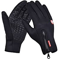 Symeas Windproof Outdoor Sports Skiing Touch Screen Glove Cycling Bicycle Gloves Mountaineering Motorcycle Racing Gloves