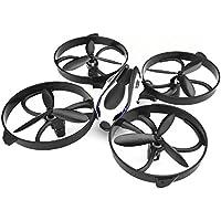 Drone, TOZO Q2020 RC Quadcopter Altitude Tenir Sans Tête RTF 3D 360 Degrés Flips & Rolls 6-axe Gyro 4CH 2.4Ghz Télécommande Hélicoptère Hauteur Maintenir Stable (Noir)