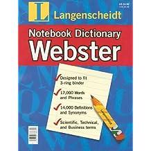 Title: Langenscheidt Webster Notebook Dictionary