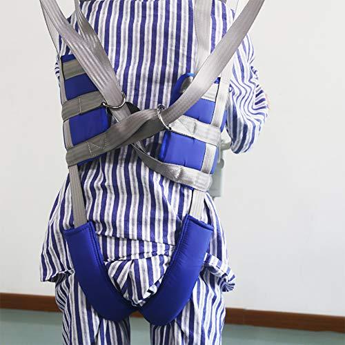 51K8KU3hlrL - GXJ Acolchado Aseo Paciente Levantar Honda con Cinturón, 510Lb Peso Capacidad con Antideslizante Interior Almohadilla No Paseo Arriba Mas Rapido Más Fácil Más Seguro Traslados Y Aseo Azul