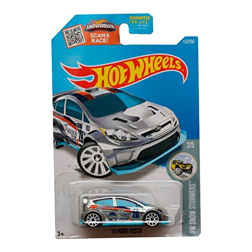 Hot Wheels 2016 - `12 FORD FIESTA (ZAMAC) - #157 - HW SNOW STORMERS