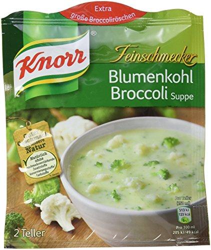 Knorr Feinschmecker Blumenkohl-Broccolicreme Suppe (15 x 2 Teller)