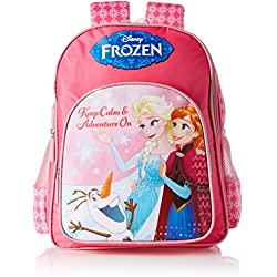 Frozen Polyester Multi-Colour School Bag (Age group :8-12 yrs)