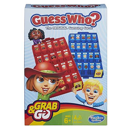 Hasbro Travel Game - Guess Who? (Wer ist es? Reisespiel) Version Englisch Galerie Tray