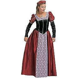 WIDMANN Widman - Disfraz de realeza medieval para mujer, talla L (S/35483)