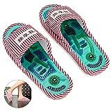 Zapatillas de masaje, masaje de shiatsu con acupresión de pies con...
