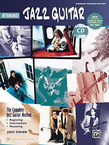 Complete Jazz Guitar Method: Intermediate Jazz Guitar  |  Gitarre  |  Buch & CD (Complete Method)