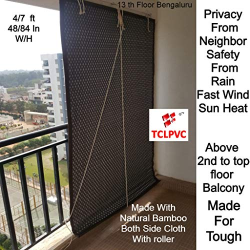check MRP of outdoor curtains bamboo TCLPVC