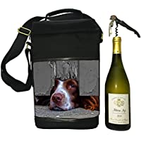 Country Matters I Spy Spaniel Wine Cool Bag, Polyester, Multi-Colour, 10 x 23 x 34 cm
