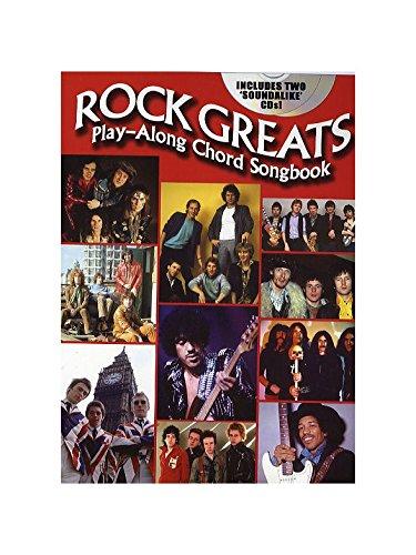 Rock Greats: Play-Along Chord Songbook. Für Gitarre(mit Griffbildern)