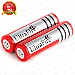 Branded 18650 7800 mAh 3.7 Volt Rechargeable Lithium Cell Li ion Battery  Features:Cylindrical Li-Ion battery, No memory effect and longer storage life than NiMH Batteries, Lighter weight and higher energy density than any other rechargeable battery ...
