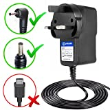T-Power ( 6.6ft Long Cable ) for Philips AVENT SCD600/10 SCD600 SCD600/00 Digital Video Baby Monitor Replacement Ac dc adapter Switching Power Supply Cord Charger