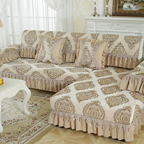 ZCM Toalla de sofá, Silla elástica Cubierta de Four Seasons Cubierta de Tela Funda Protectora Sillón para sofá S-7(una Pieza) (Tamaño : 70 * 90cm)