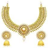 Sukkhi Graceful Gold Plated Necklace Set...